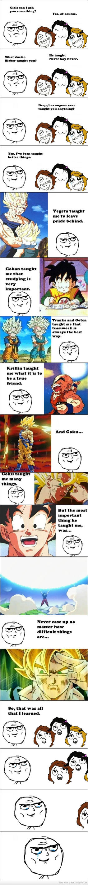 What Dragonball Z Taught Us by jay4gamers1
