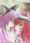 cheshire x mad hatter