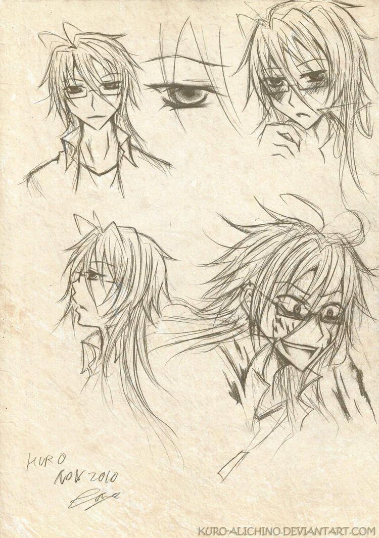 Kagami expressions by kuro-alichino