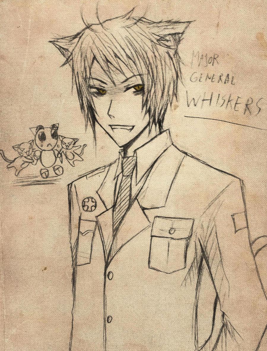 Sir Whiskers by kuro-alichino