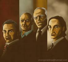 The four horsemen by vixengeraldine