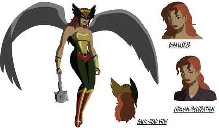 DC Animated Movie: Hawkgirl