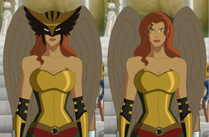 Hawkgirl: Public Enemies by AMTModollas