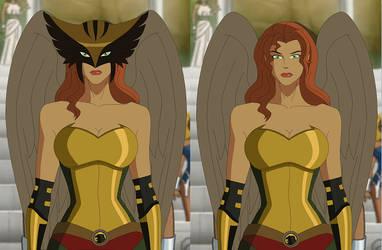 Hawkgirl: Public Enemies by AMTModollas