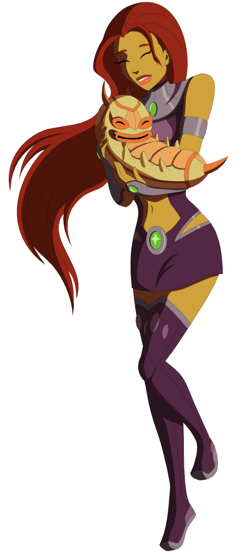 Young Justice Logo Young Justice Starfire And