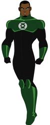 New Green Lantern (John Stewart) by AMTModollas