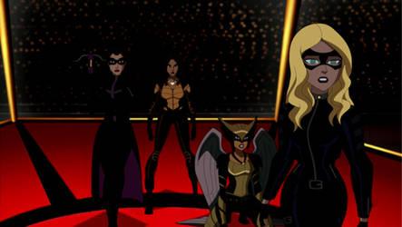 Arrow/The Flash: JLU Style: Birds of Prey by AMTModollas