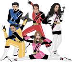 Power Rangers Ninja Steel Cast