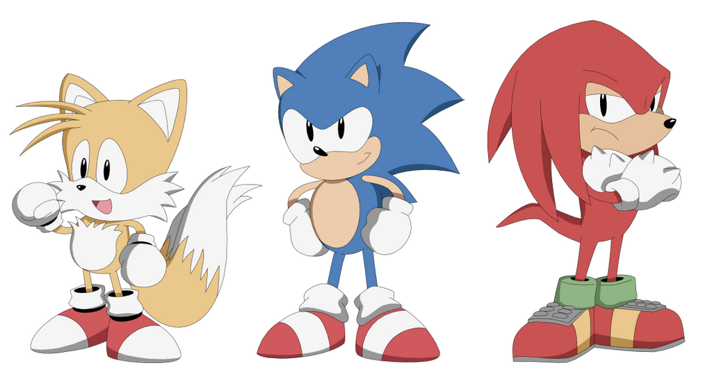 Classic Team Sonic by AMTModollas