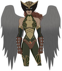 Hawkwoman by AMTModollas