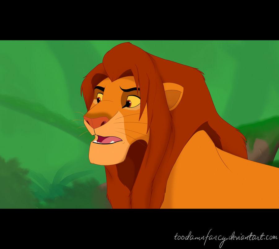 Simba by toodamnfancy