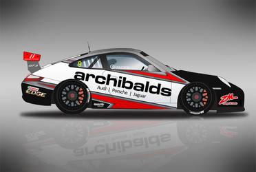Porsche Carrera Cup Livery by GrangerDesign