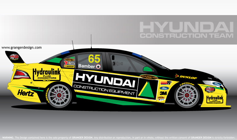 Hyundai Construction Supercar by GrangerDesign