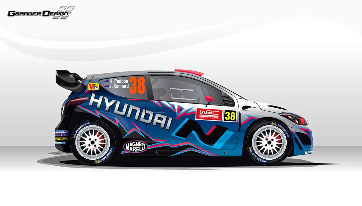 Hayden Paddon Wrc Hyundai I20 By Grangerdesign On Deviantart