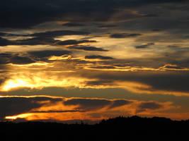 Sunset XVIII by DaWascht