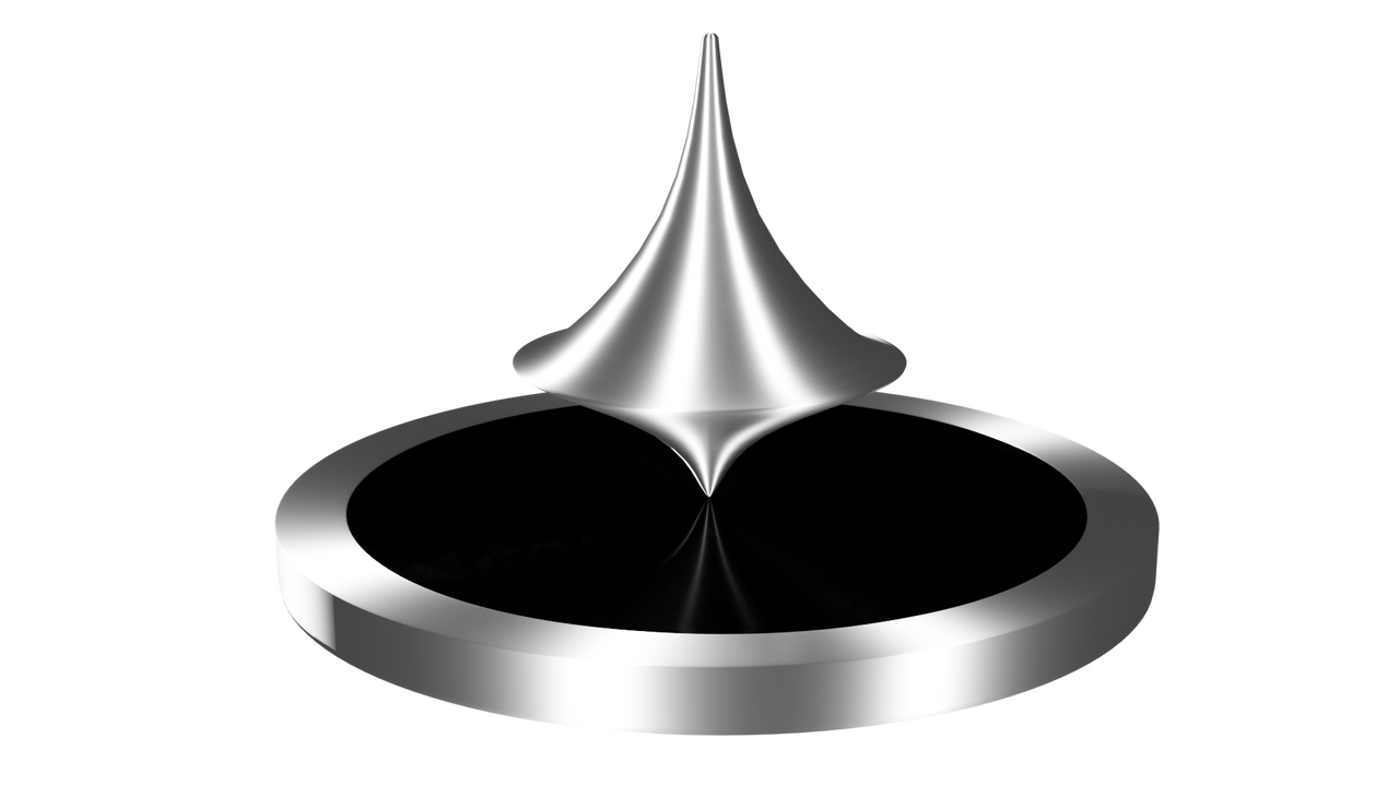 Spinning Top 3D model