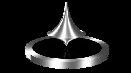 Spinning Top 3D model