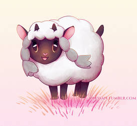 Pokemon: Wooloo - A Friendly Little Cloud by Olessan