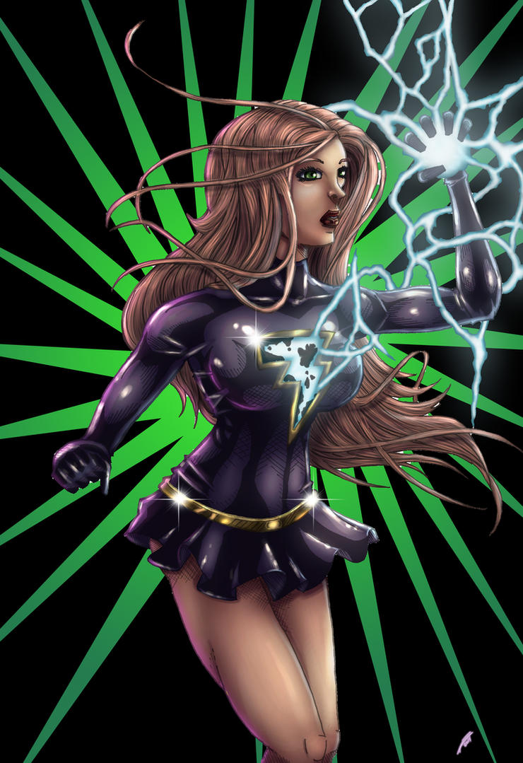 Dark Mary Marvel by x138x