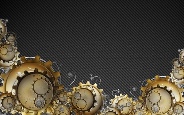 steampunk mac background by whiteboy-123