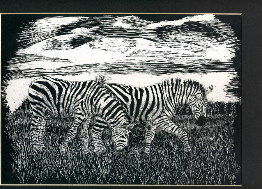 Zebra Plains by ShiningForceKaya