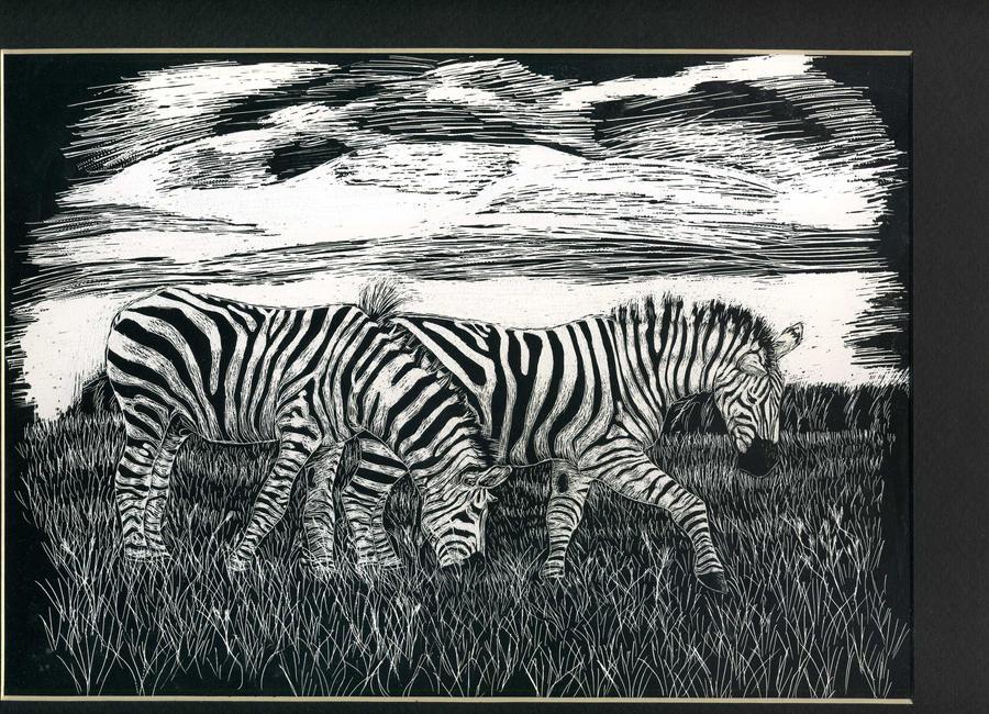 Zebra Plains by ShiningForceKaya