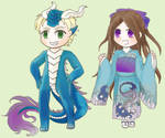 Chibi Ban Sai 2019 by ShiningForceKaya