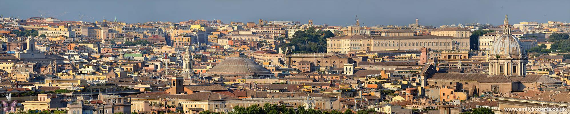 Rome Panoramic - Janiculum Hill