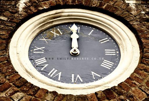 Erddig Clock
