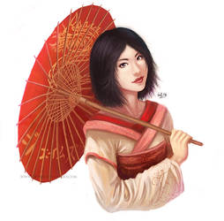 Geisha by Deepsies