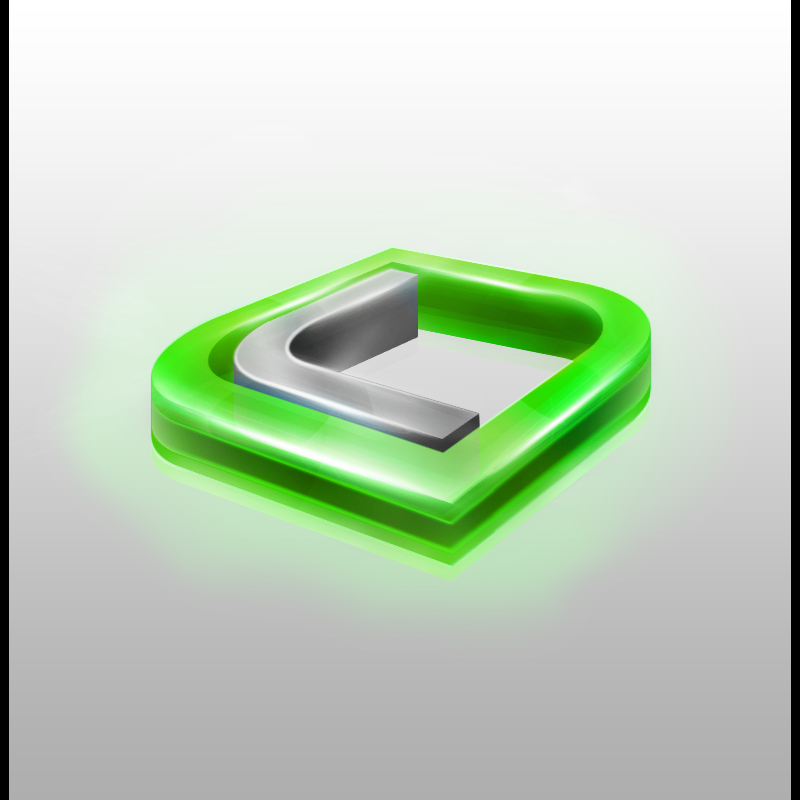J Logo 3d 3D Logo by lent...