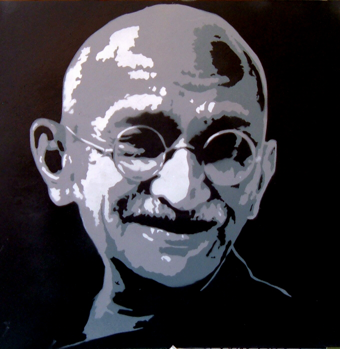 Gandhi by Rings89