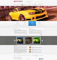 COMM Web Design #12 by Azatdraw