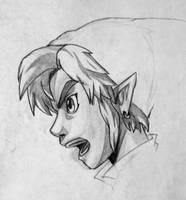 Link Scream by FuriousWinter