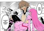 Tatsumi saving Mein [ Akame ga kiru! ]