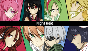 Night Raid by iCrow17