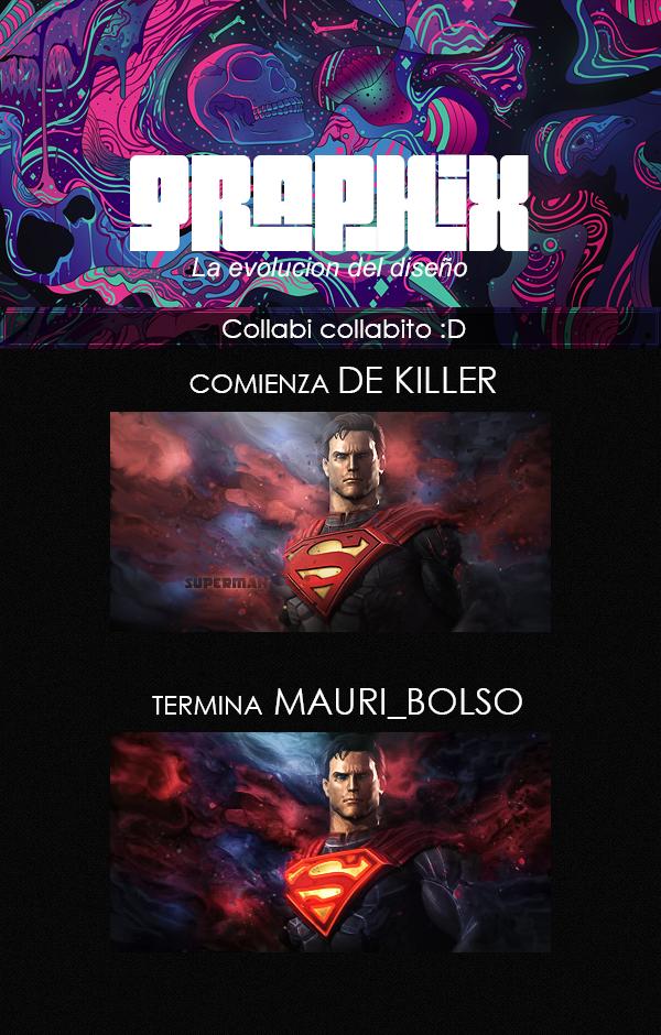 Collab ft de Killer Collab_superman_ft_dekiller_by_mauribolso-d8kbzin
