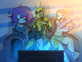 Gaming Night by Evil-Count-Proteus