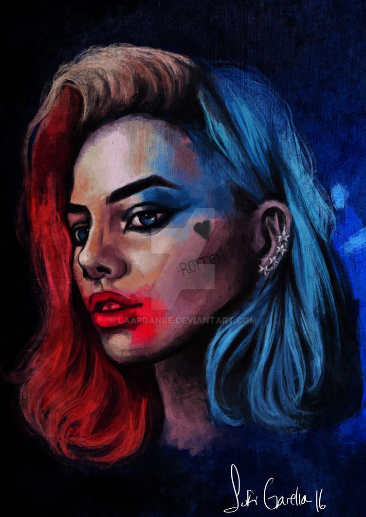 Margot Robbie as Harley Quinn by laapdance
