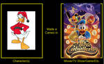 Fethry Duck in Legend of the Three Caballeros