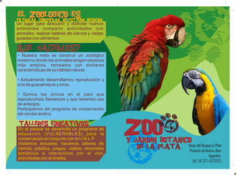 Zoo Brochure Front and Back