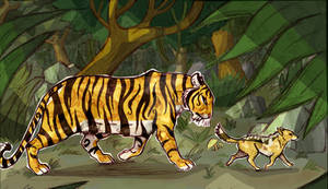 The Jungle Book - 4th scene.