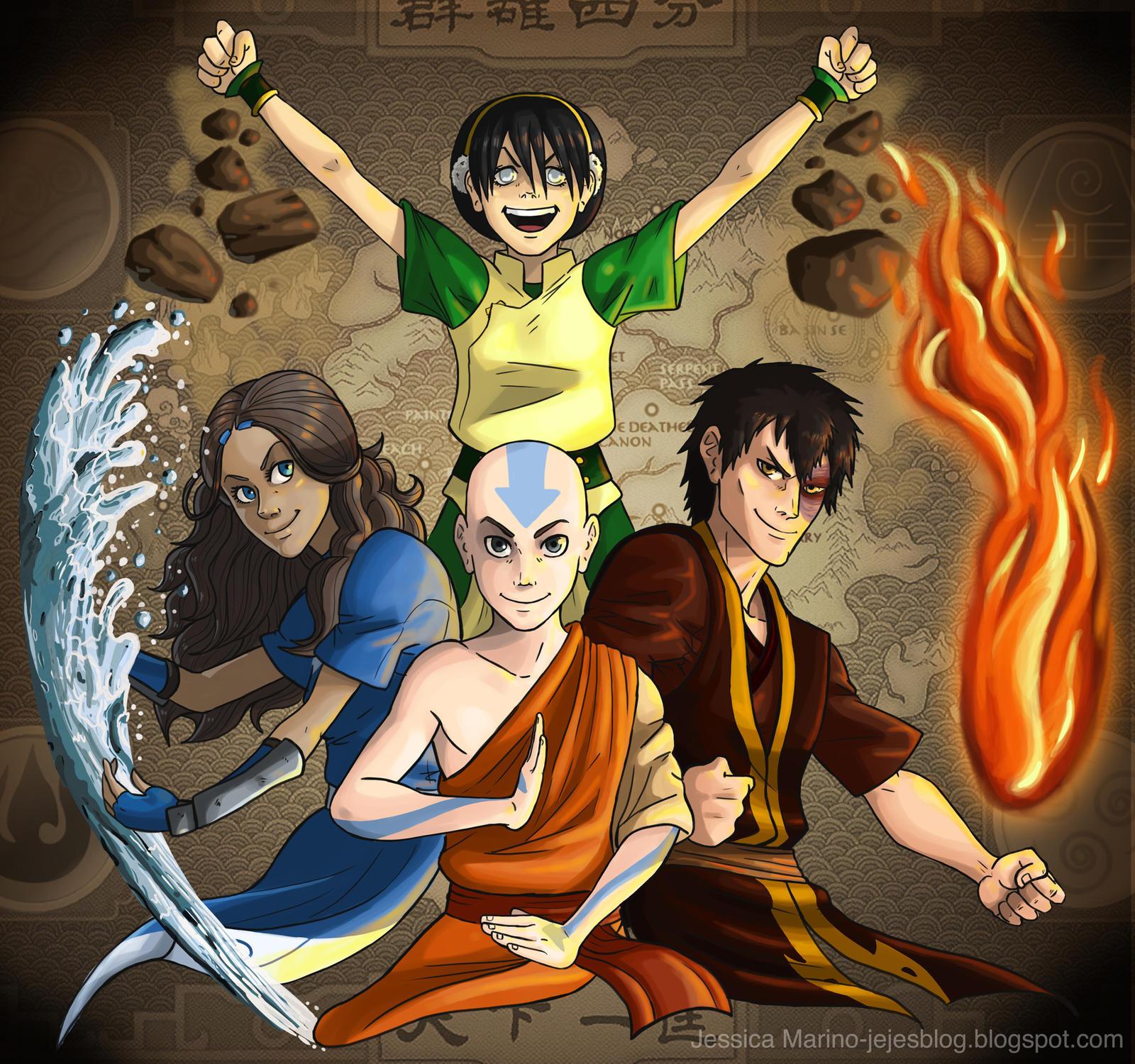 Avatar 4: The Four Elements By J-e-J-e On DeviantArt