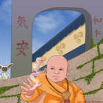 baby Avatar Aang by Yaiden