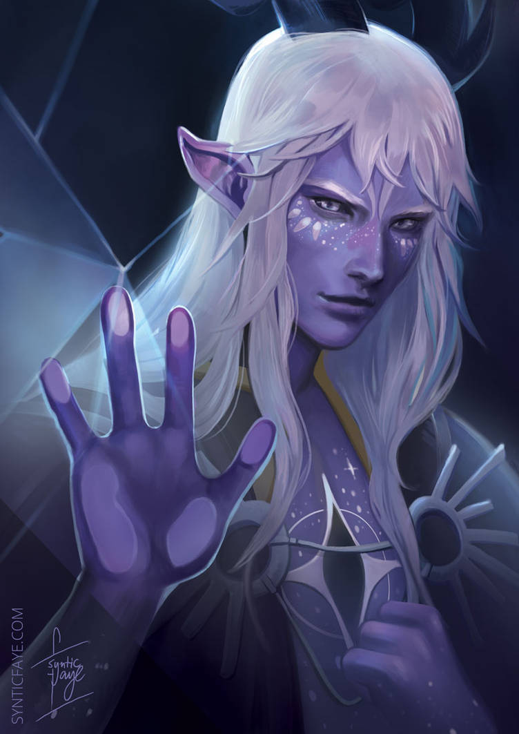 Aaravos from The Dragon Prince by synticfaye