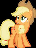 Applejack Shucks by Flizzick