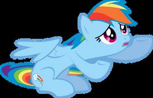 Rainbow Dash Y U NO Believe in Me? by Flizzick