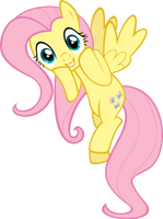 Fluttershy is Delighted by Flizzick