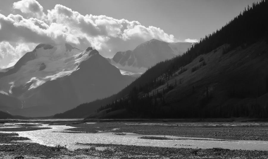 black and white landscape 2 by biggoofybastard on DeviantArt
