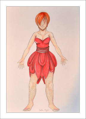 The nightmare in a red dress
